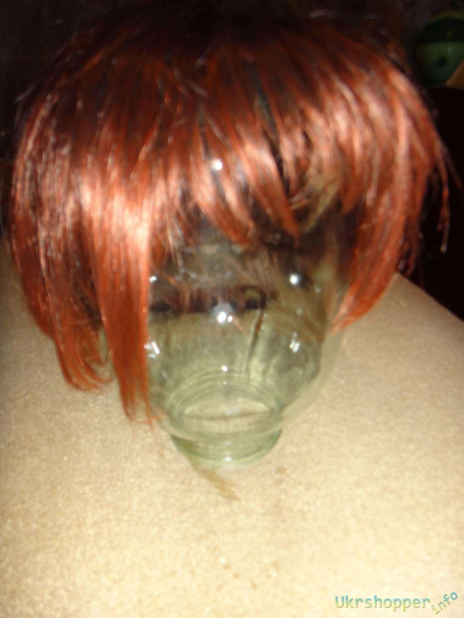 Aliexpress: Обзор женского парика со стрижкой каре
