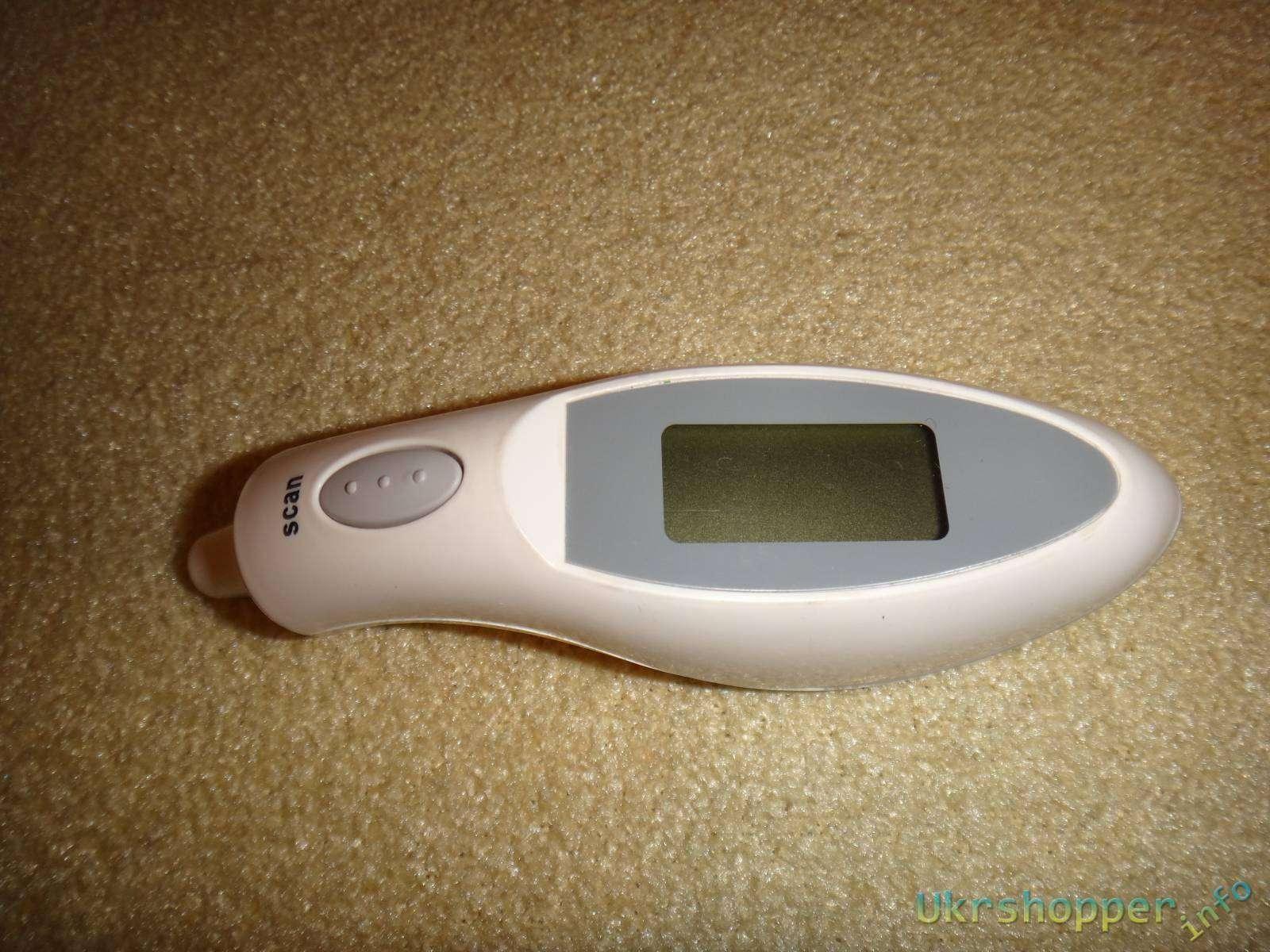 Aliexpress: Обзор электронного инфракрасного термометра