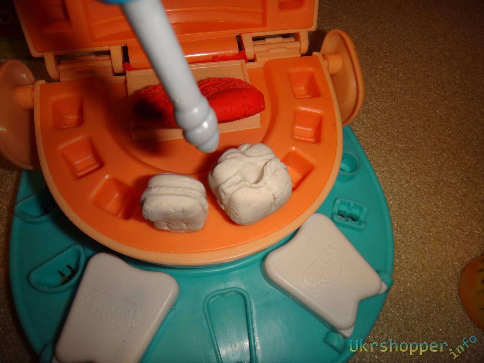 Amazon: Обзор набора для лепки серии Play Doh от ТМ Hasbro Мистер Зубастик