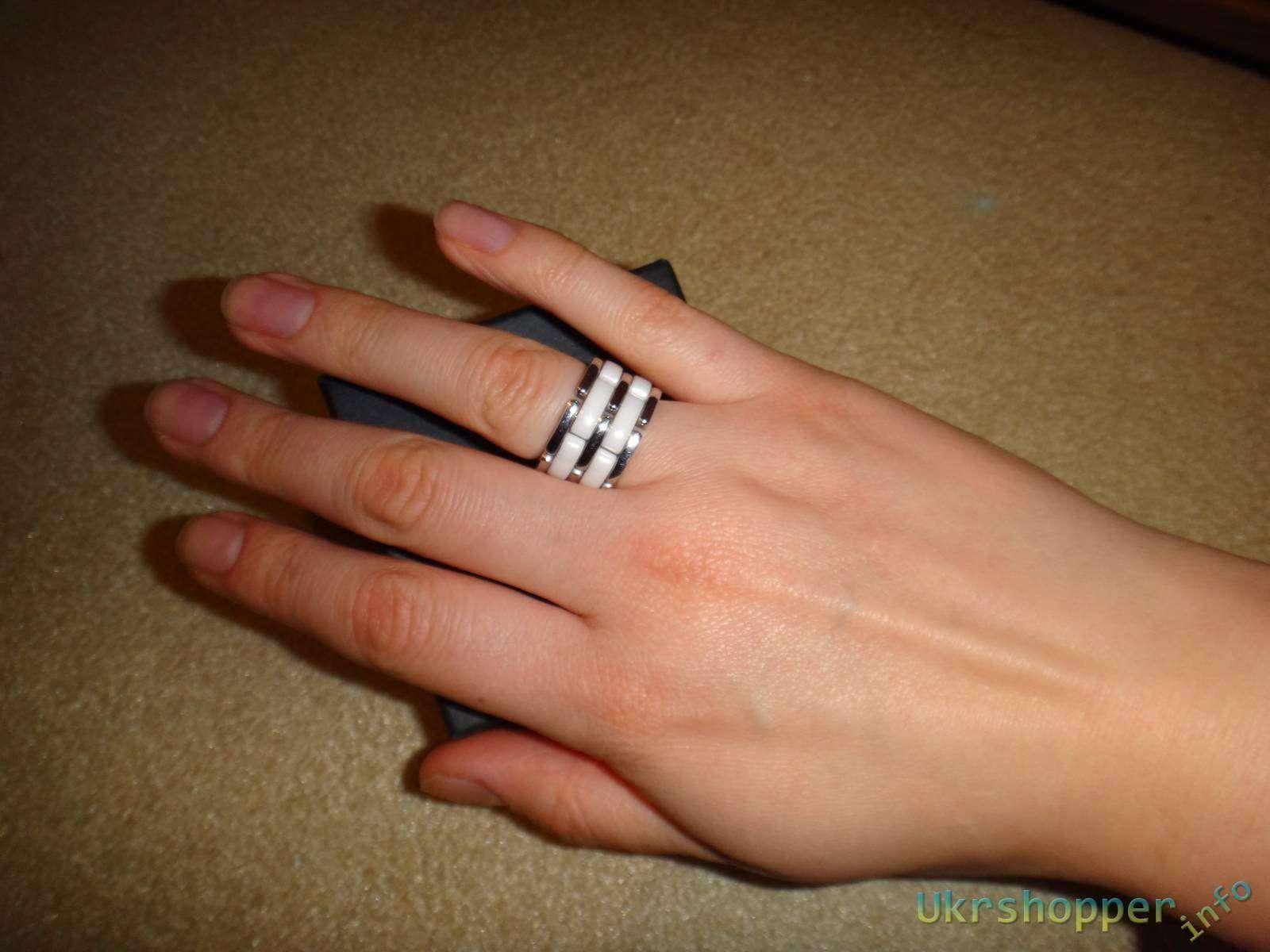 TaoBao: Обзор кольца реплики Сhanel с керамическими вставками.