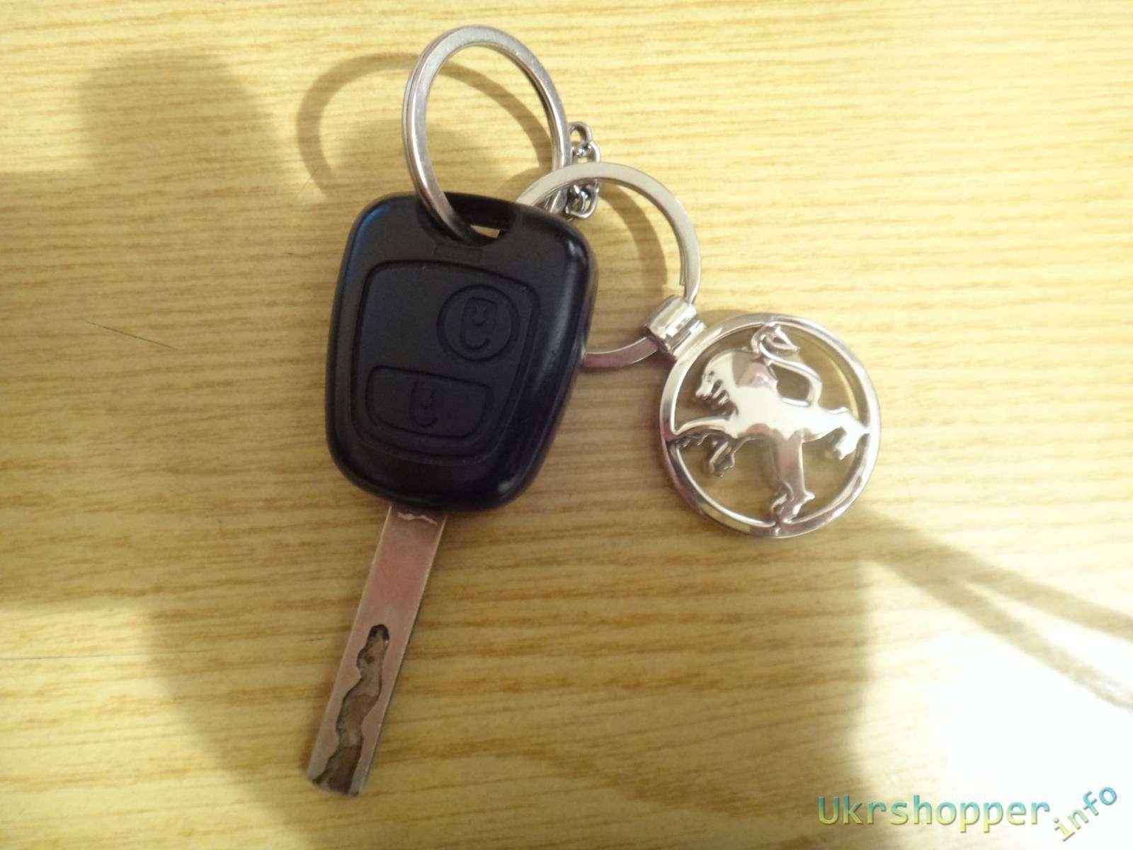 Ebay: Обзор брелка со львом Peugeot