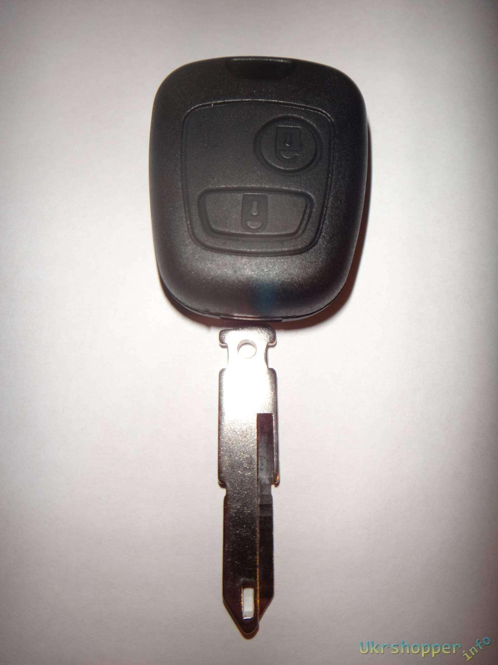 Ebay: Обзор ключа для автомобиля Peugeot