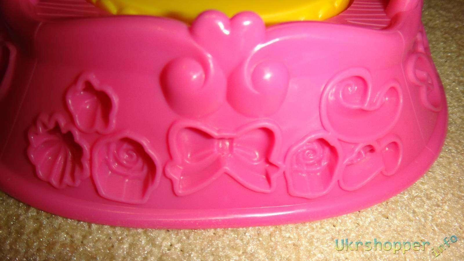 Amazon: Обзор набора для лепки серии Play Doh от ТМ Hasbro 'Золушка'