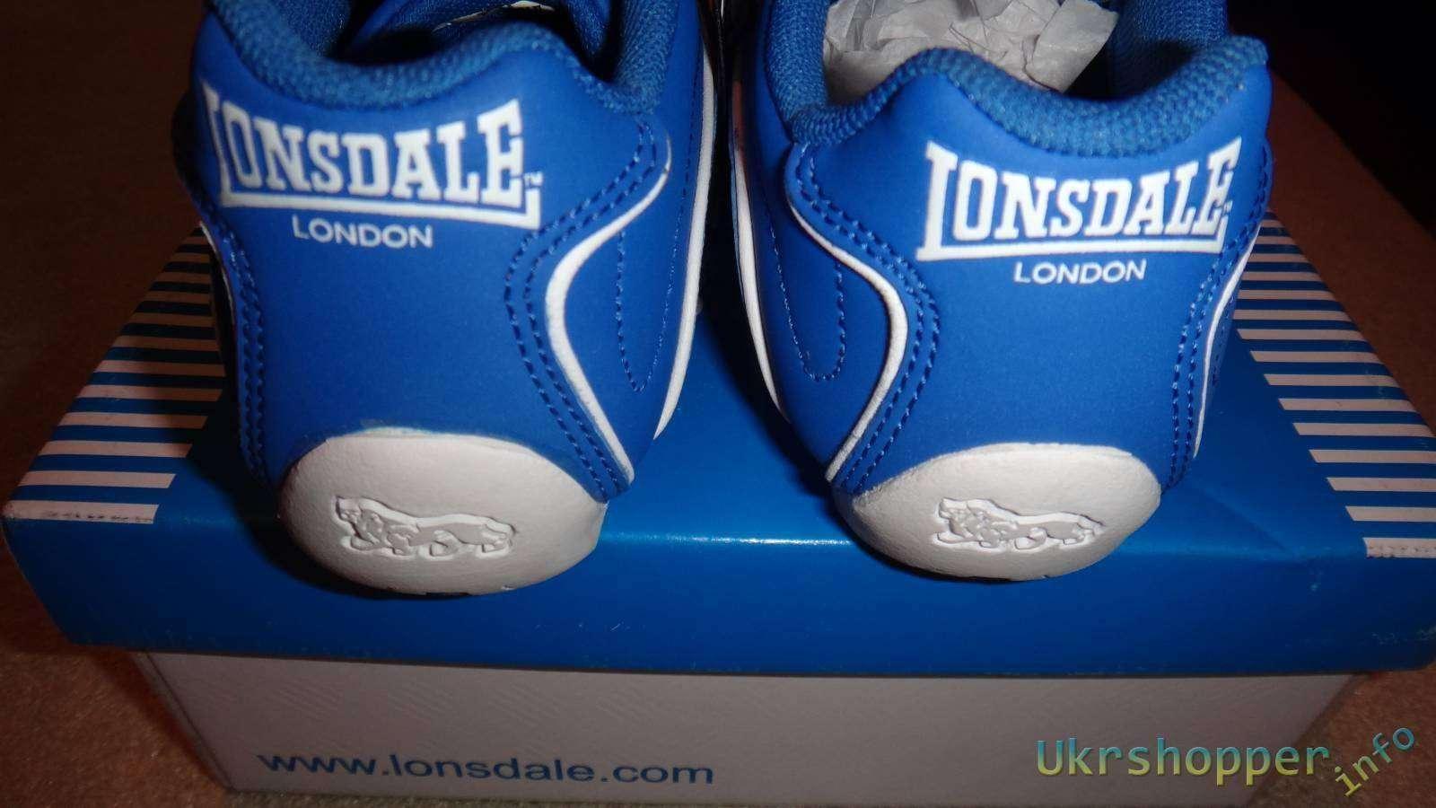 Sportsdirect: Обзор детских кожаных кроссовок LONSDALE