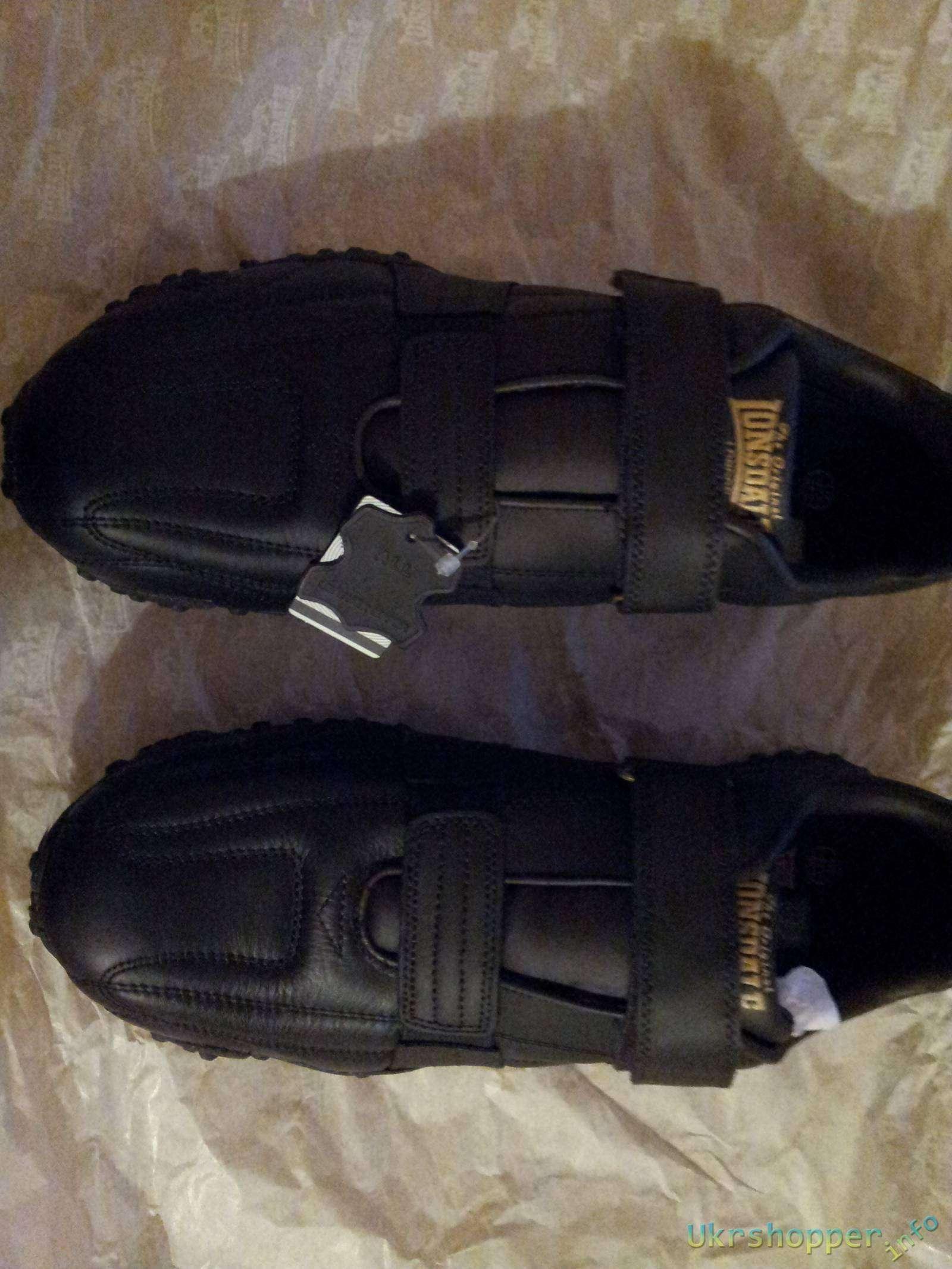 Sportsdirect: Обзор мужских кроссовок фирмы LONSDALE