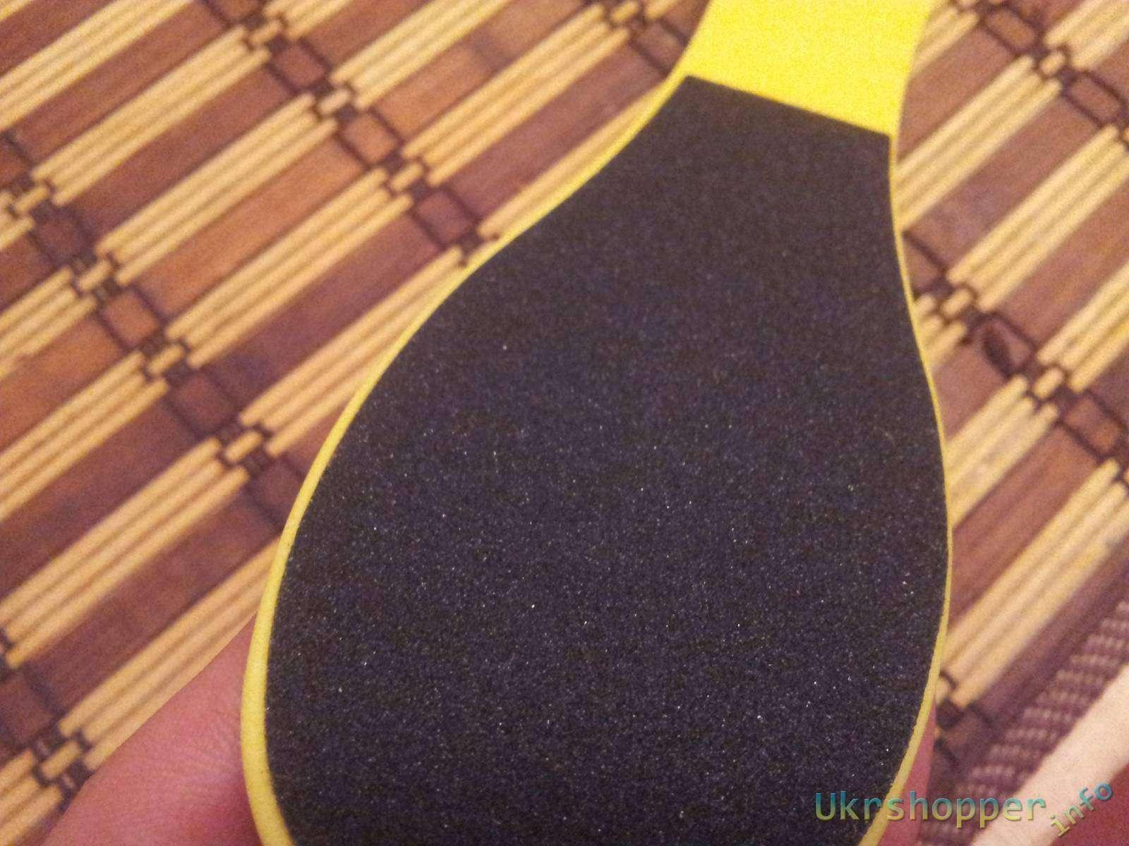Aliexpress: Обзор пилочки для педикюра