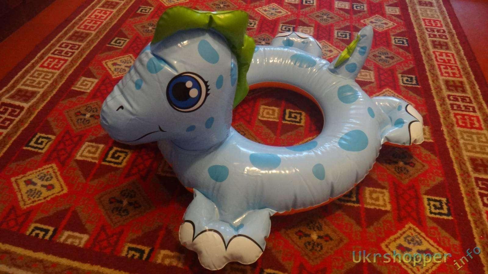Amazon: Обзор надувного детского круга Intex 'Дракоша'