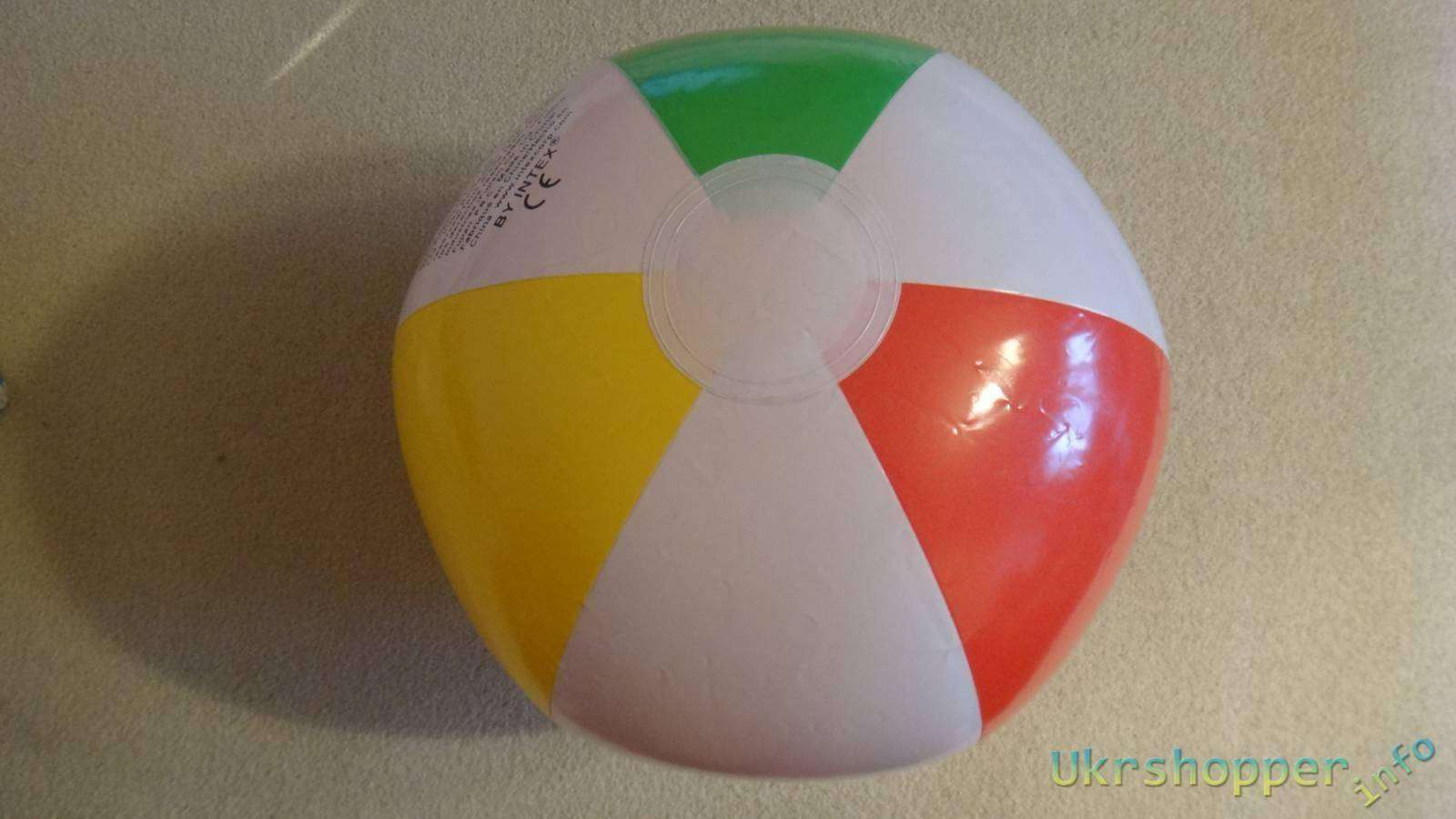 Amazon: Обзор надувного мяча фирмы Intex
