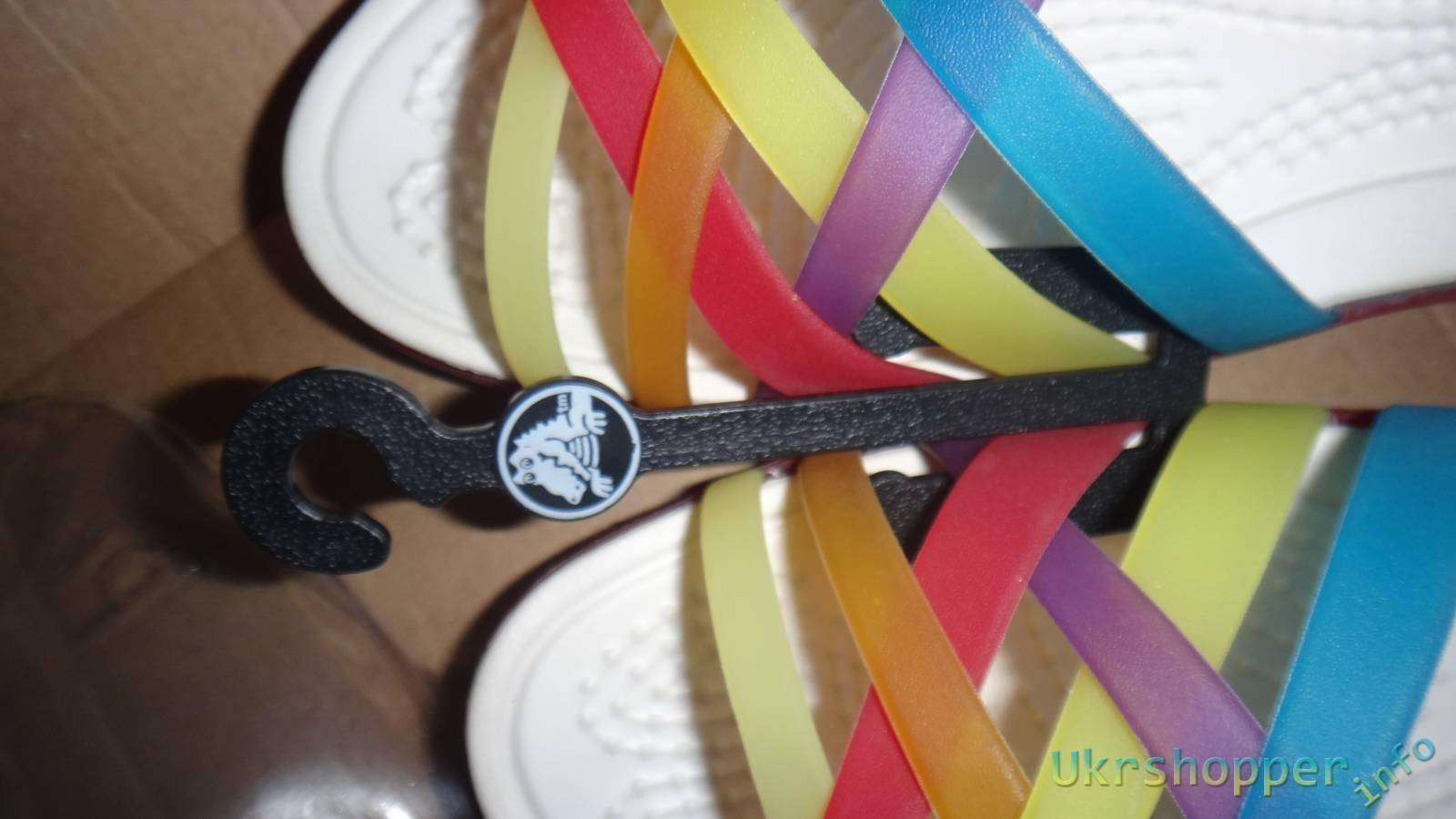 Обзо� жен�ки� бале�ок �и�м� crocs amazon shopper