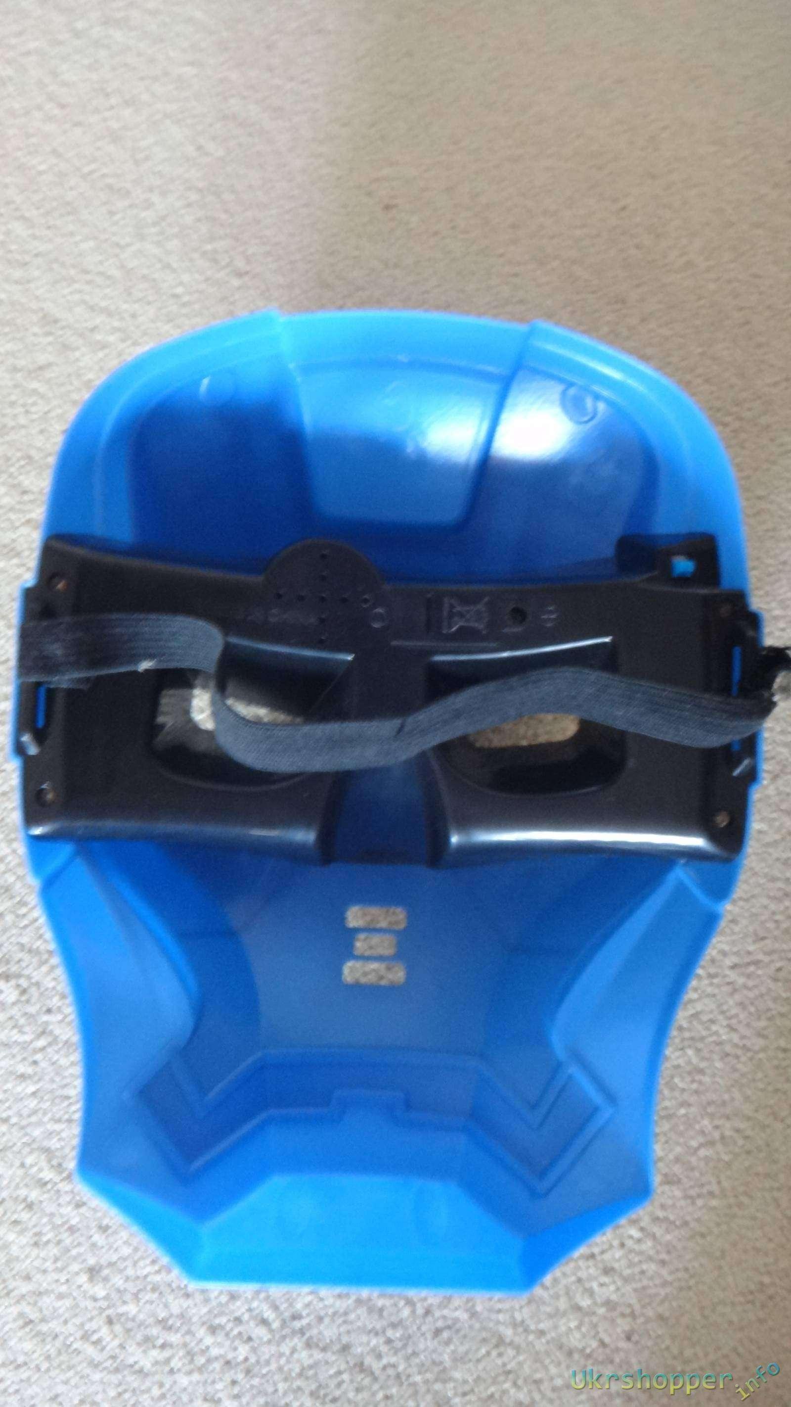 DealExtreme: Обзор детской светящейся маски железного человека