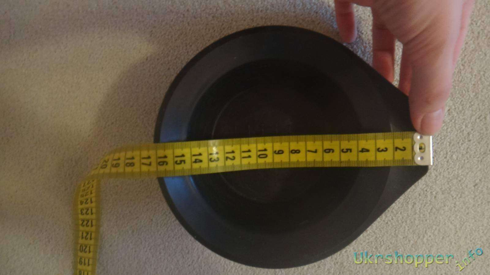 TinyDeal: Обзор чашки-тарелки пластиковой в которой смешивают краску для волос