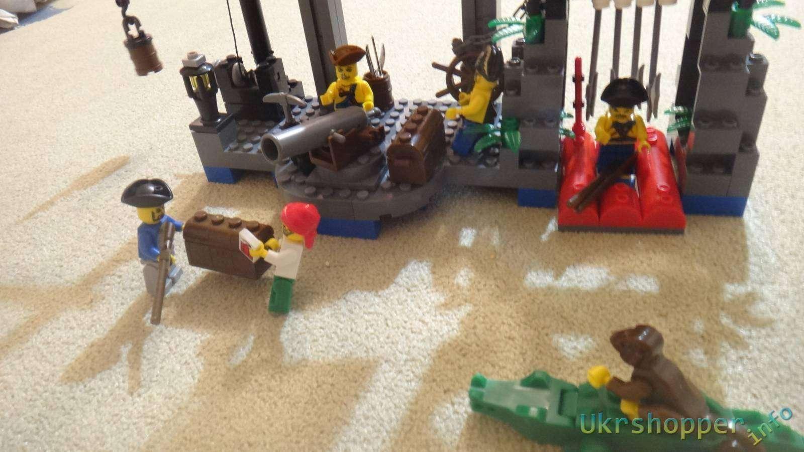 Aliexpress: Обзор конструктора 'Brick' пиратская серия: Деревня скелета
