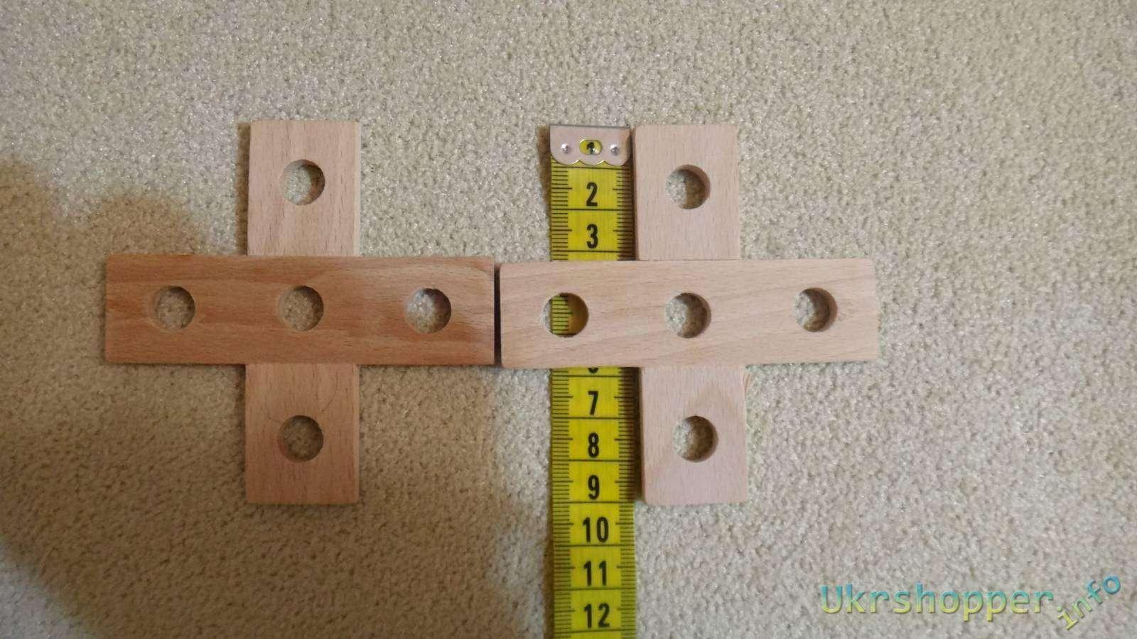 GearBest: Обзор развивающего деревянного  конструктора для ребенка