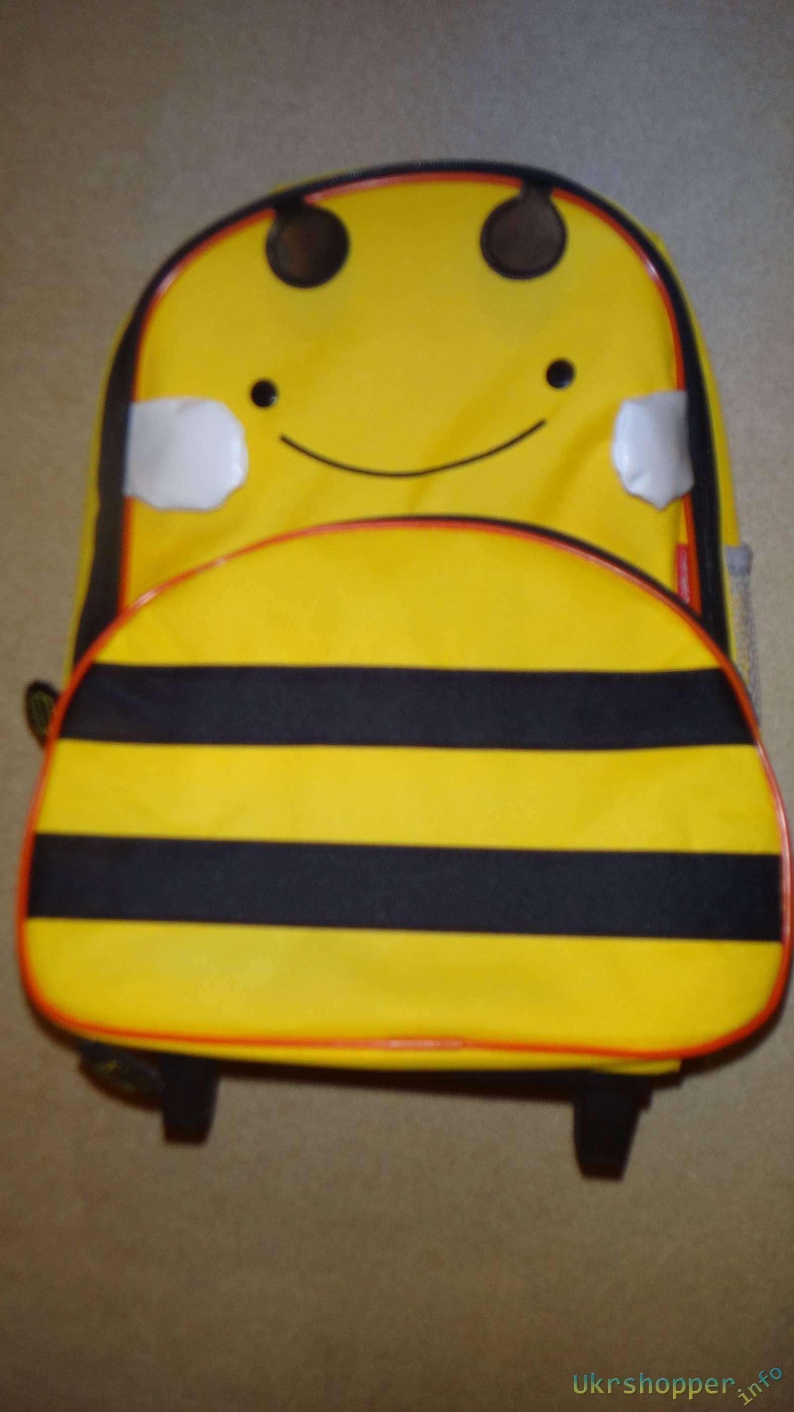 EachBuyer: Обзор детского чемодана-рюкзака для путешествий