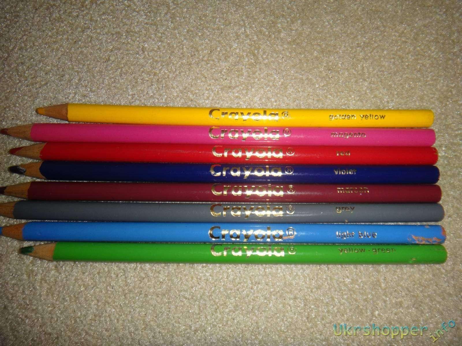 Amazon: Обзор-отзыв о знаменитых карандашах фирмы Crayola