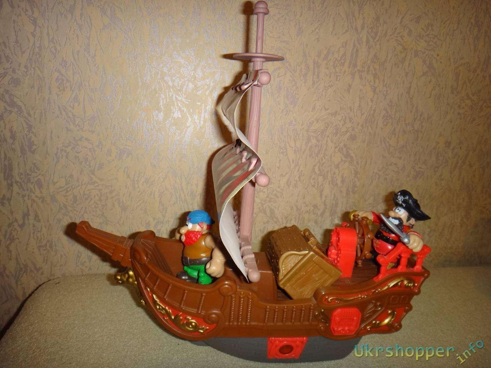 Amazon: Обзор детской игрушки 'Пиратский корабль' фирмы Keenway