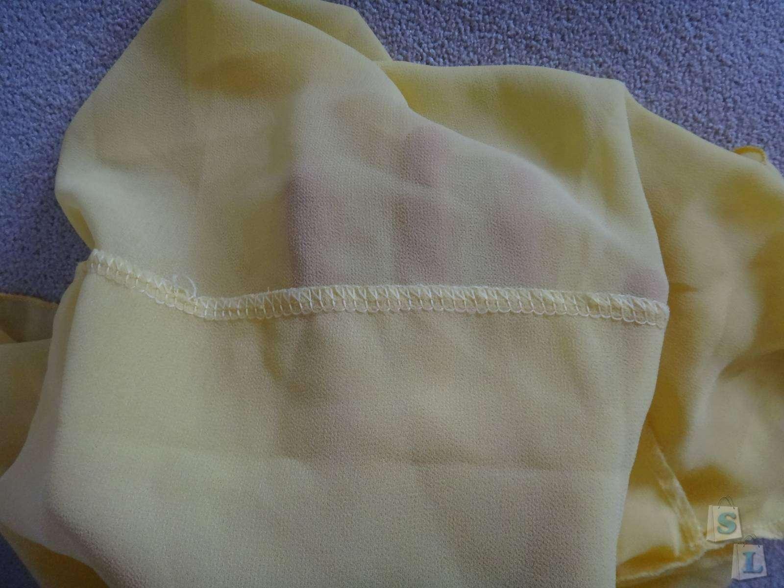 CooliCool: Обзор желтой майки из шифона