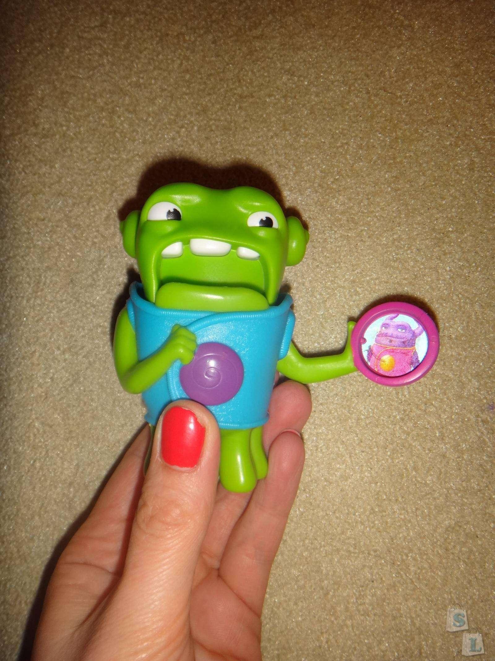 Другие: Обзор игрушек из МакДоналдс Бувы-пришельцы из мультика Дом в Хеппи Мил
