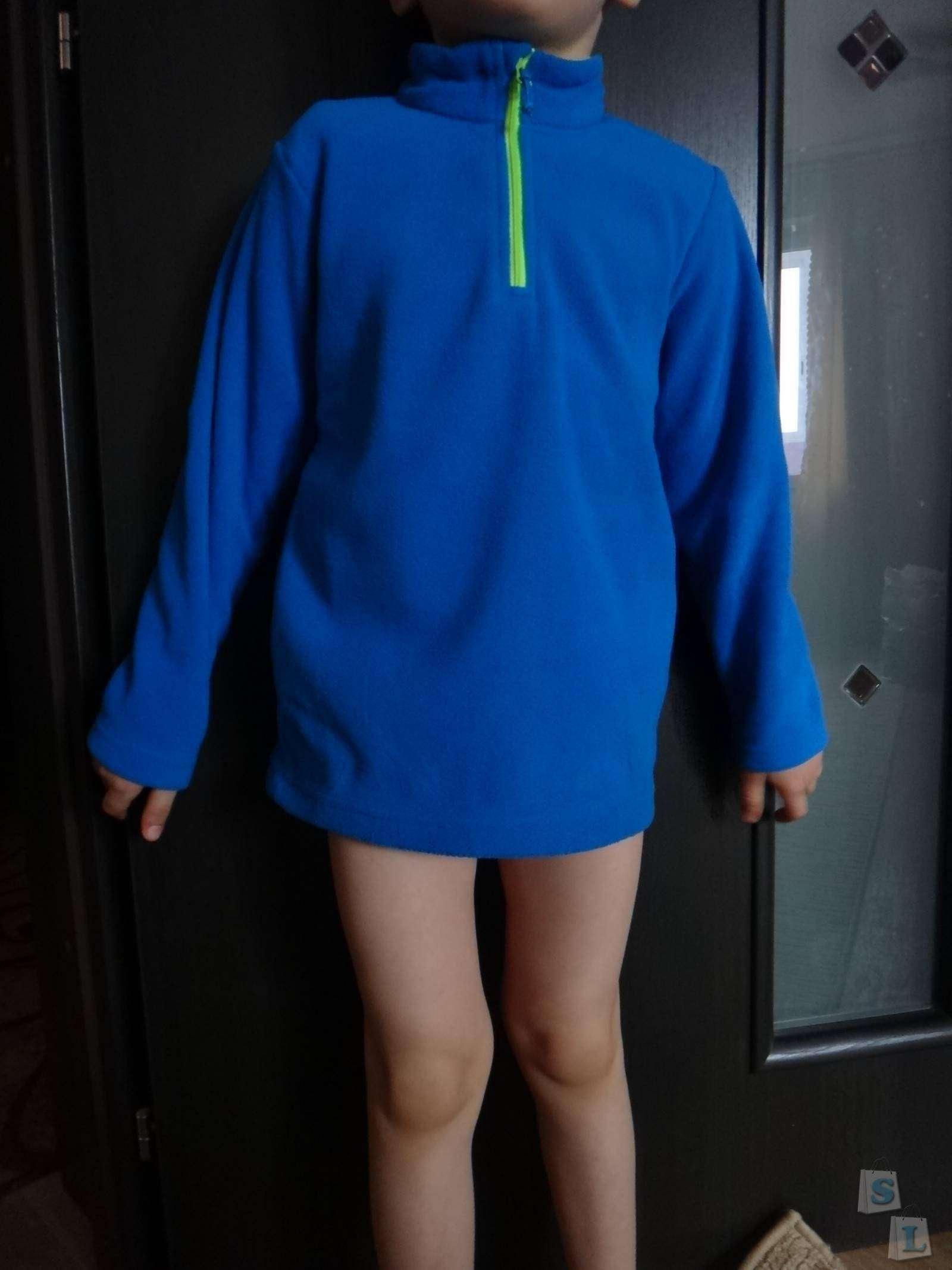 Decathlon: Обзор детской флиски из магазина Декатлон