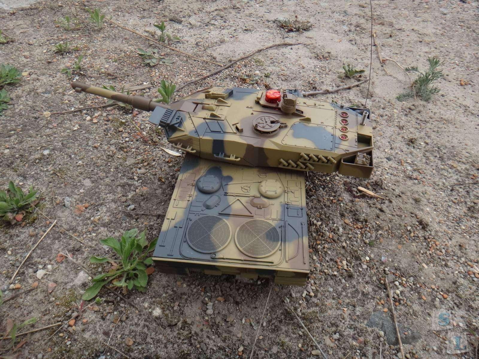 GearBest: Обзор большого танка M1 Abrams на радиоуправлении