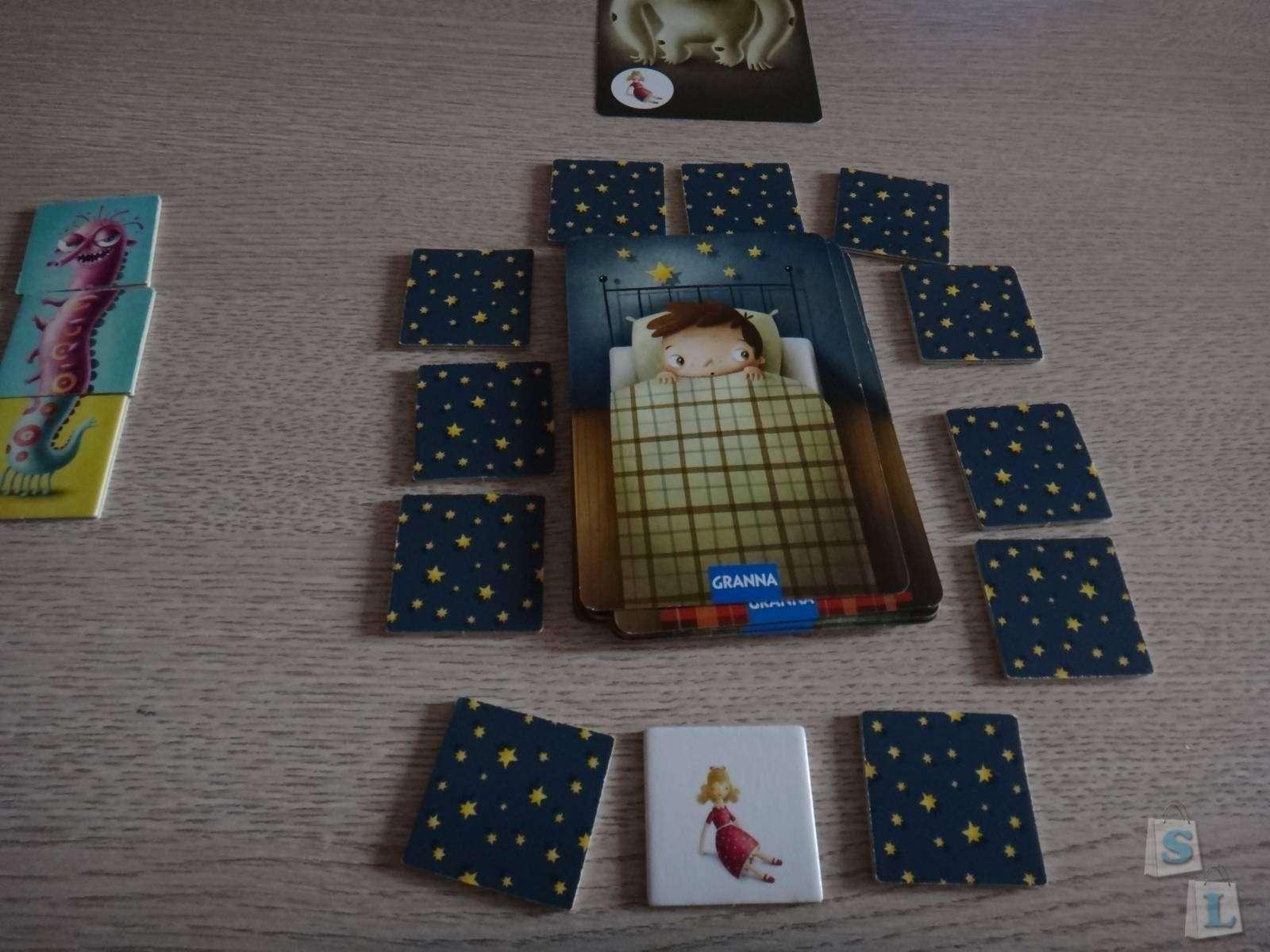Розетка: Обзор-отзыв настольной игры польской фирмы «Гранна» (Granna) 'Монстры, марш в шкаф'
