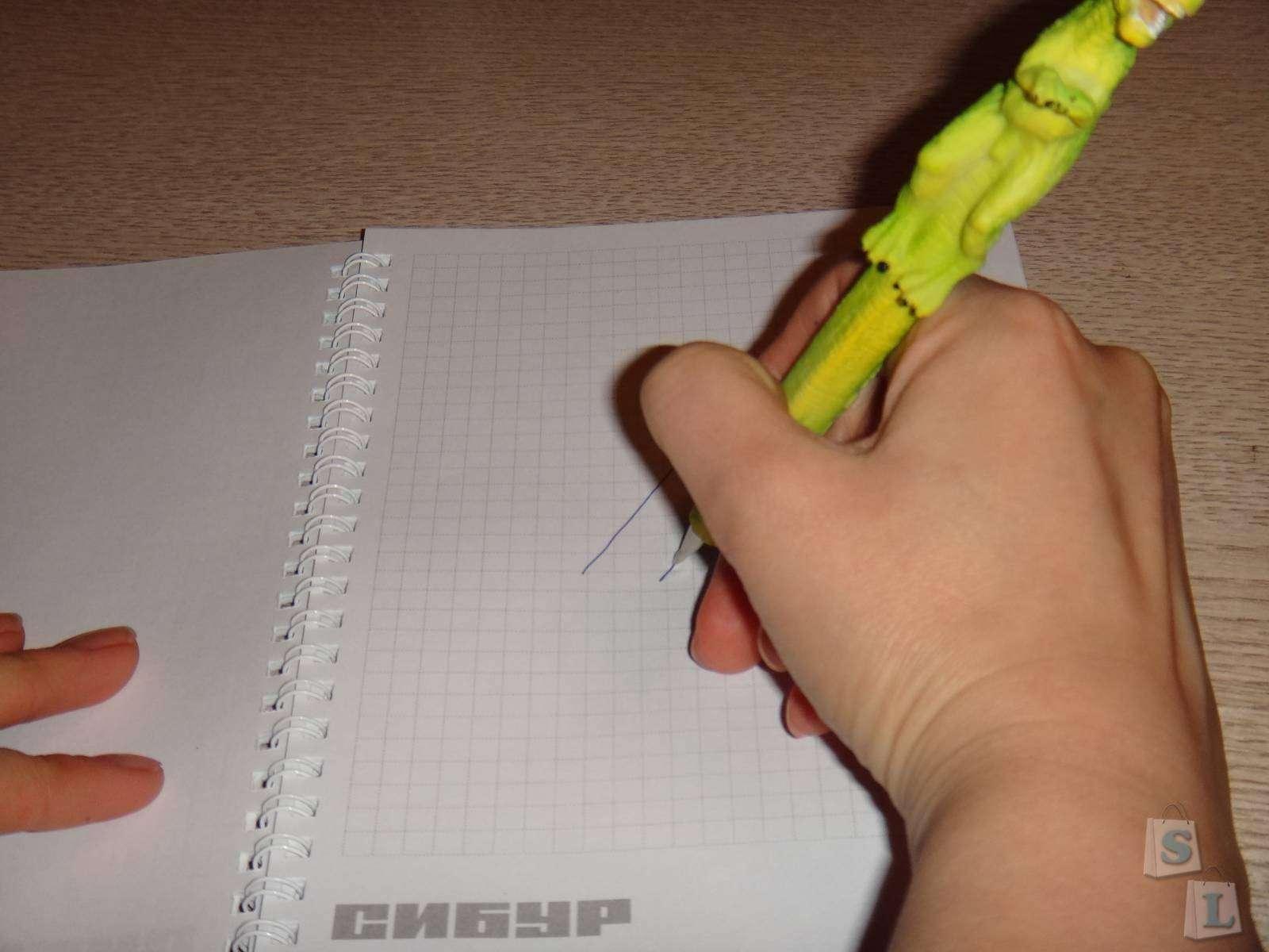 Другие: Обзор ручки с фигуркой динозавра