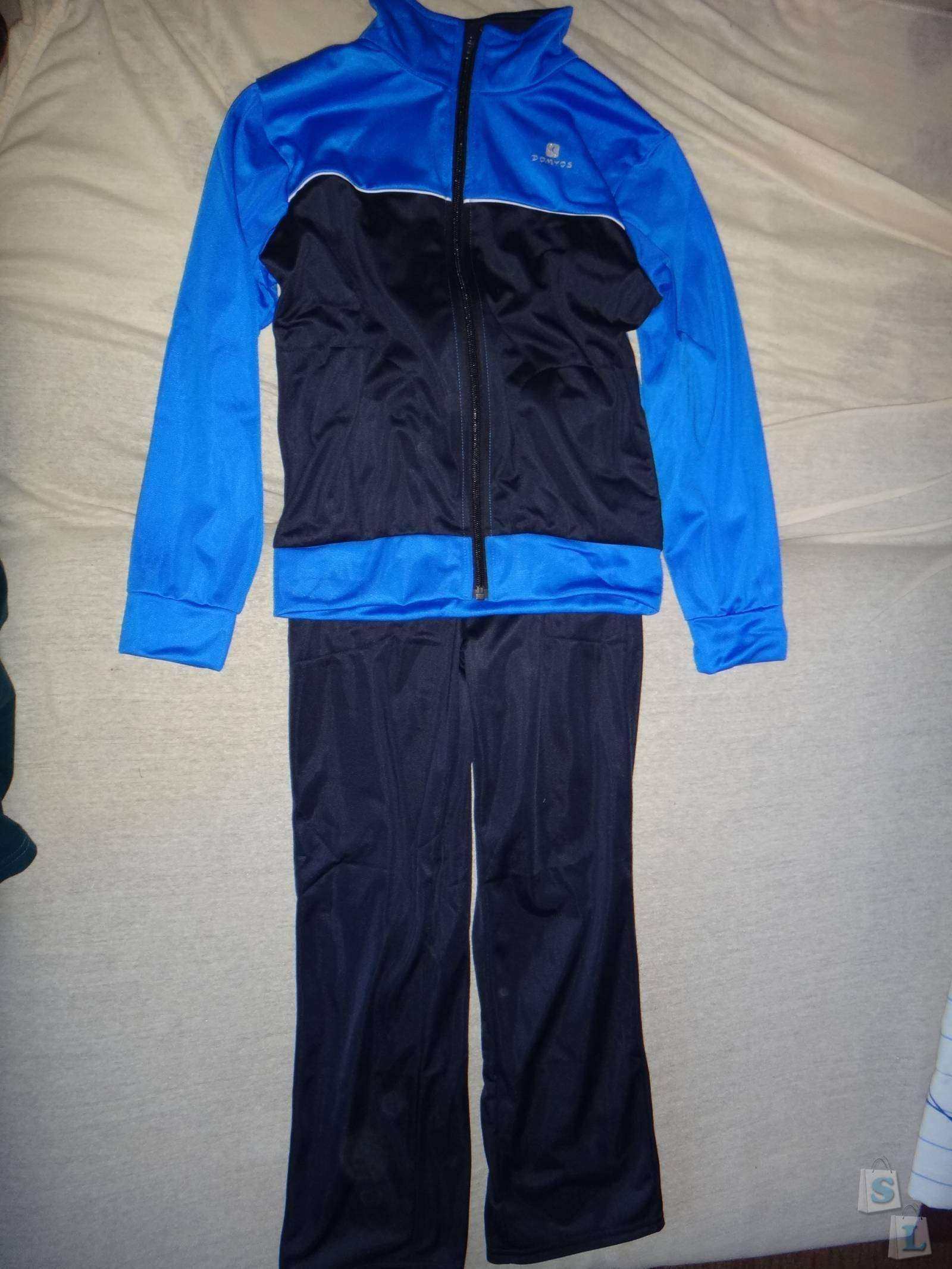 Decathlon: Обзор детского спортивного костюма ТМ DOMYOS  из магазина Декатлон