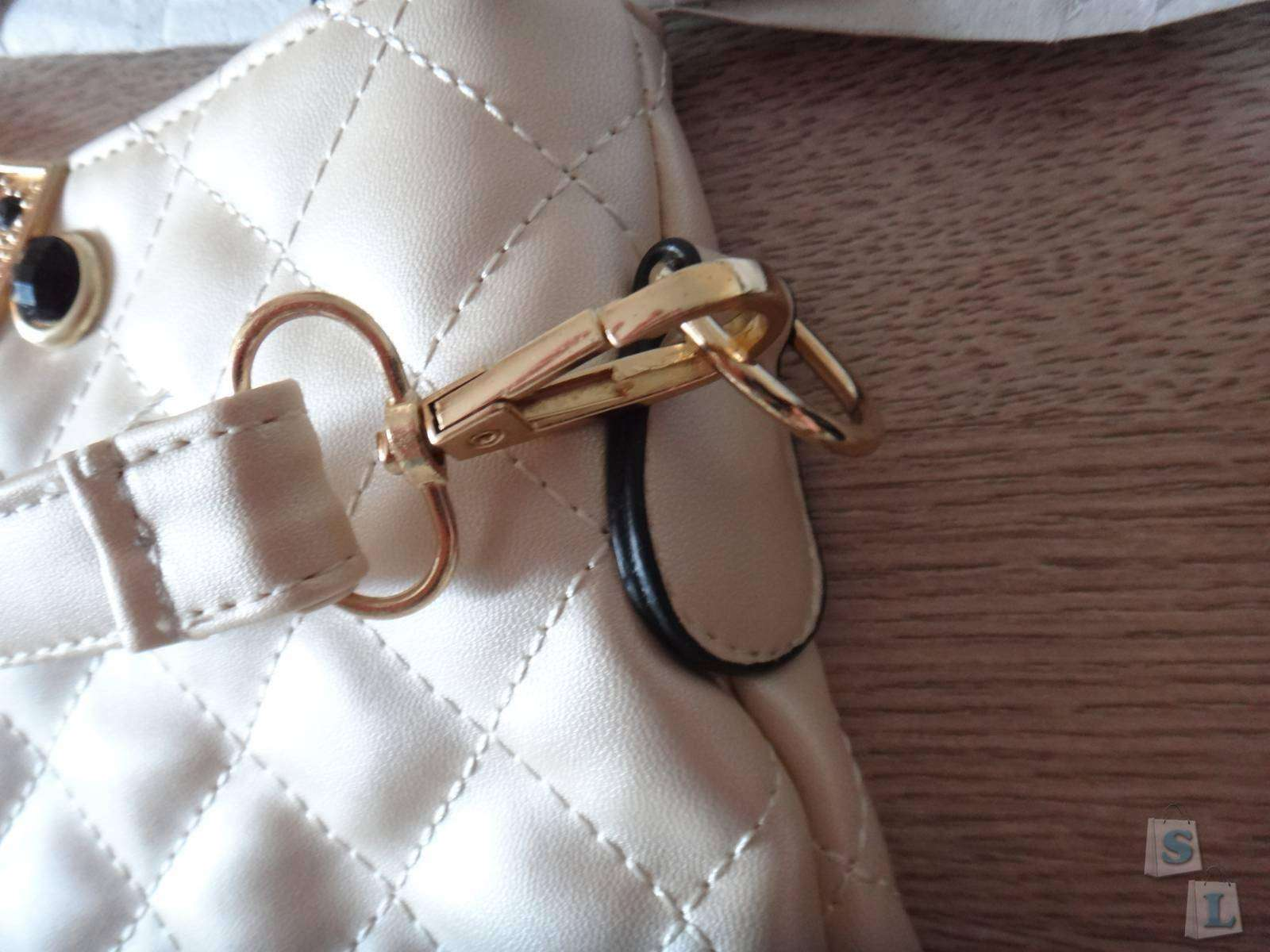 TinyDeal: Обзор бежевой женской сумки