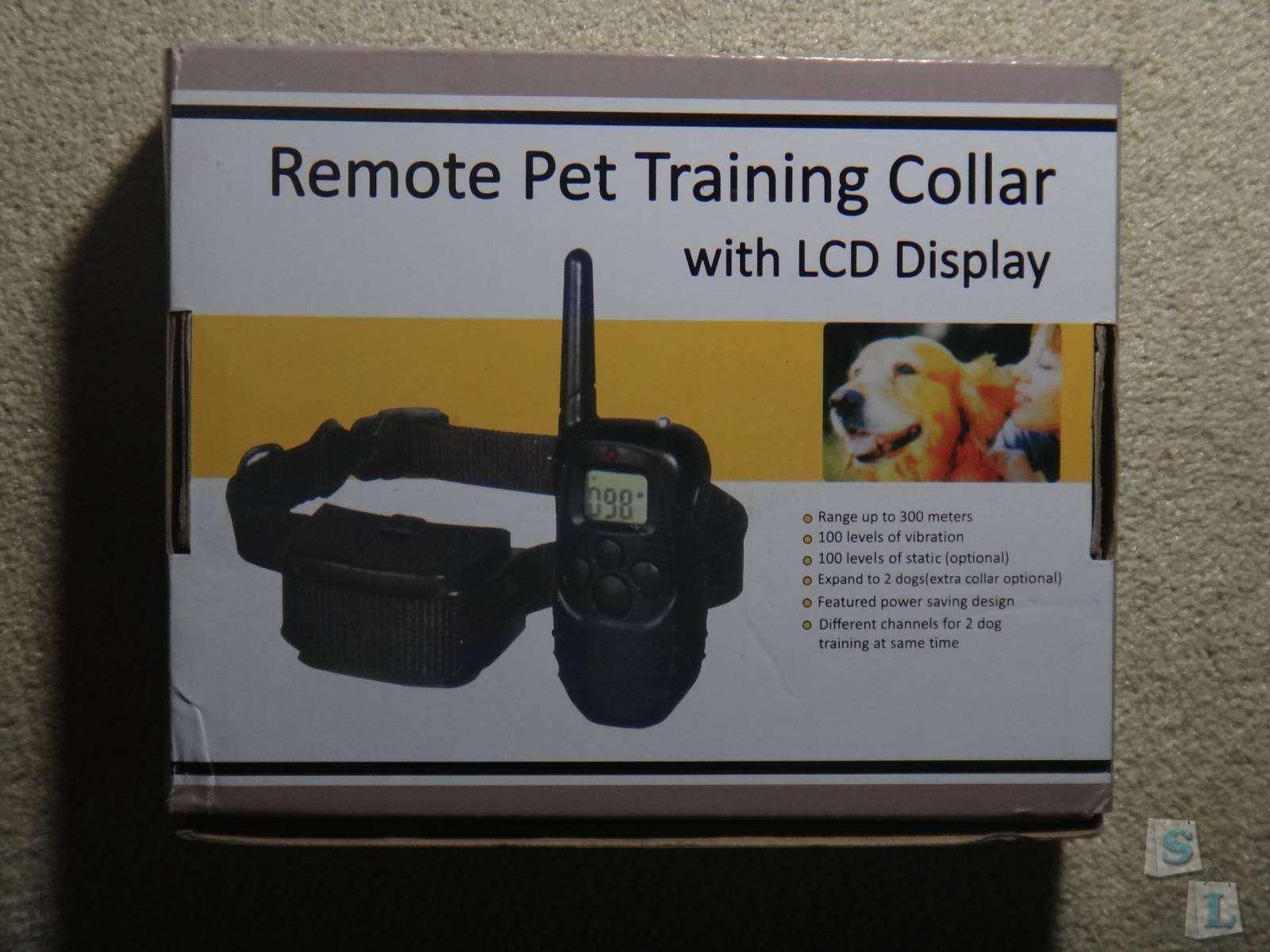 GearBest: Обзор обучающего ошейника для собак