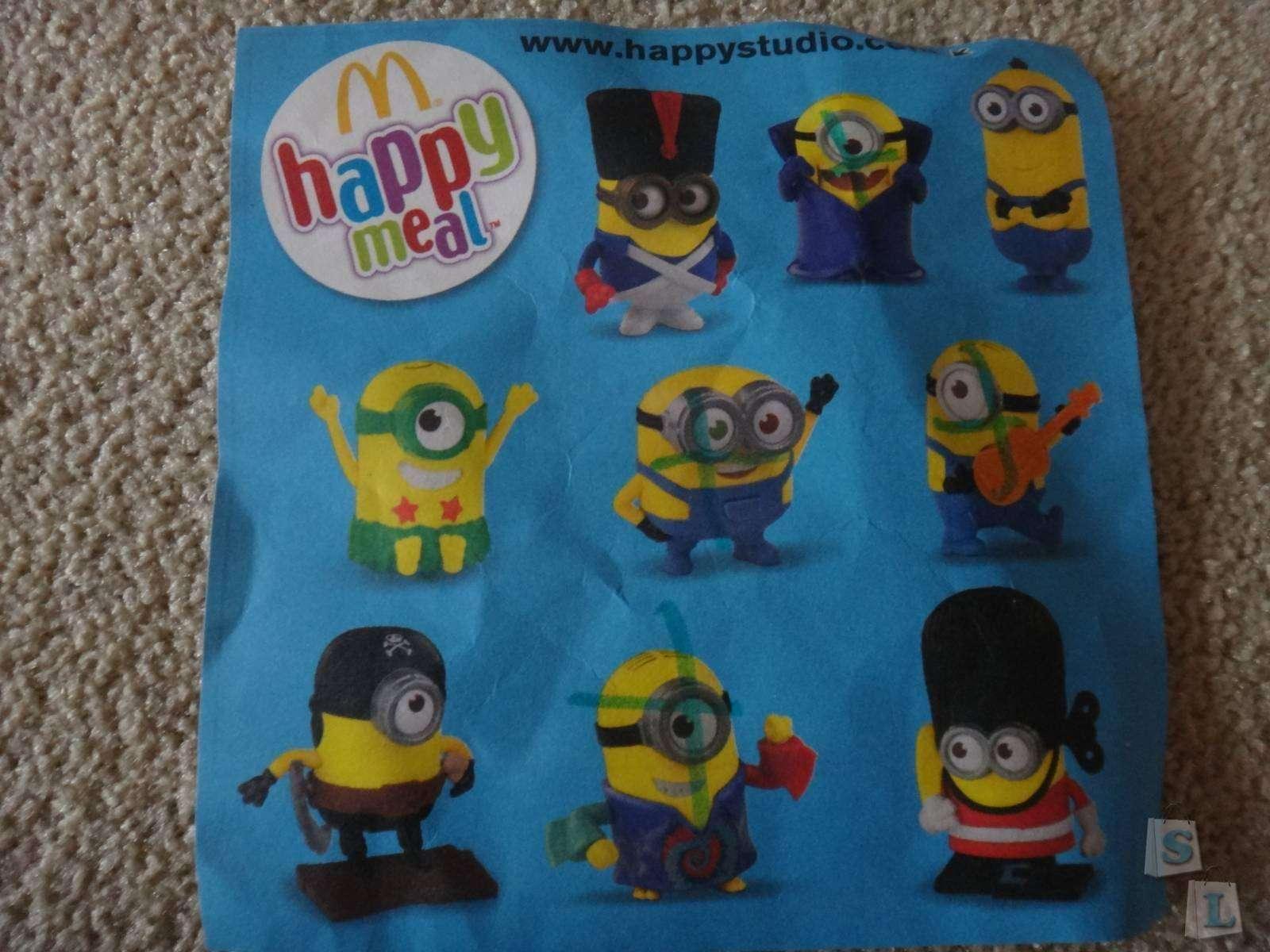 Другие: Обзор первой части коллекции миньонов  из МакДоналдс ('Хеппи Милл') - Посипаки Happymeal