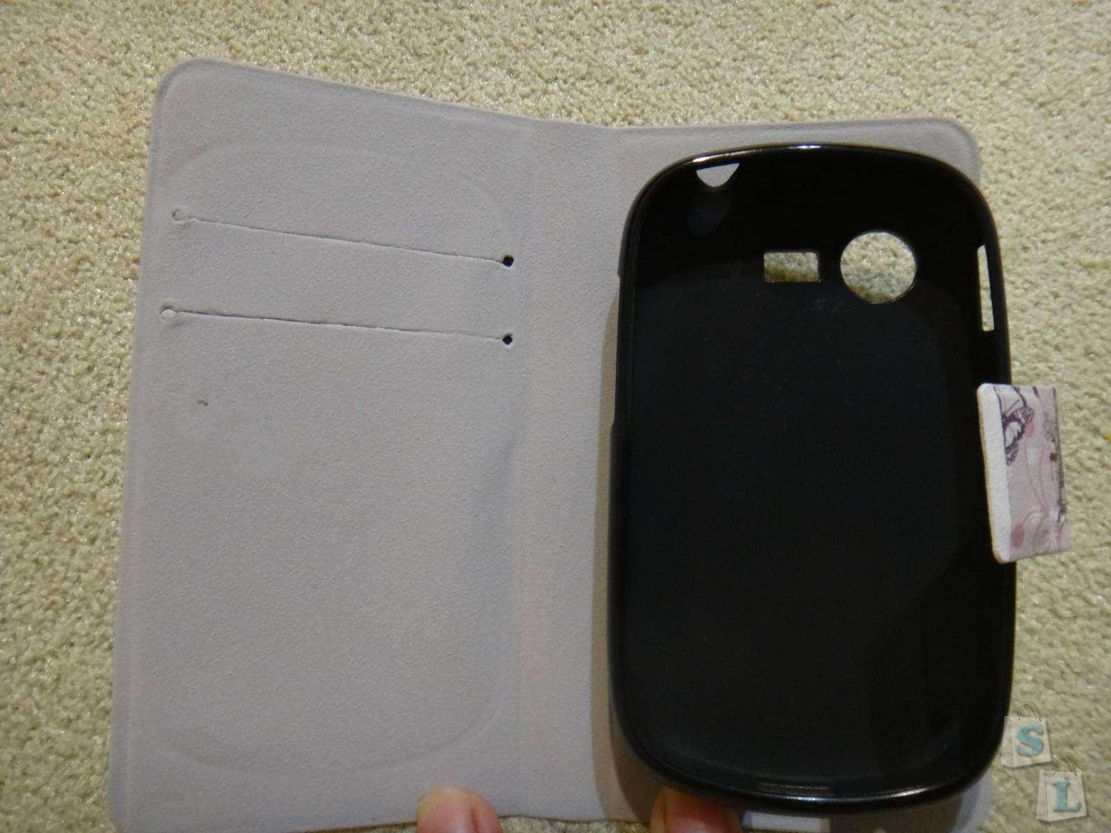 Aliexpress: Обзор чехла для Samsung GALAXY Star S5282 с карманчиками под платежные карточки
