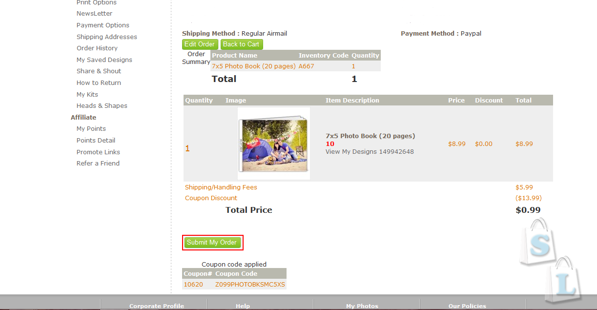 Другие: На Artscow.com акция-фото-книга за 0,99$ и многое другое по очень низким ценам