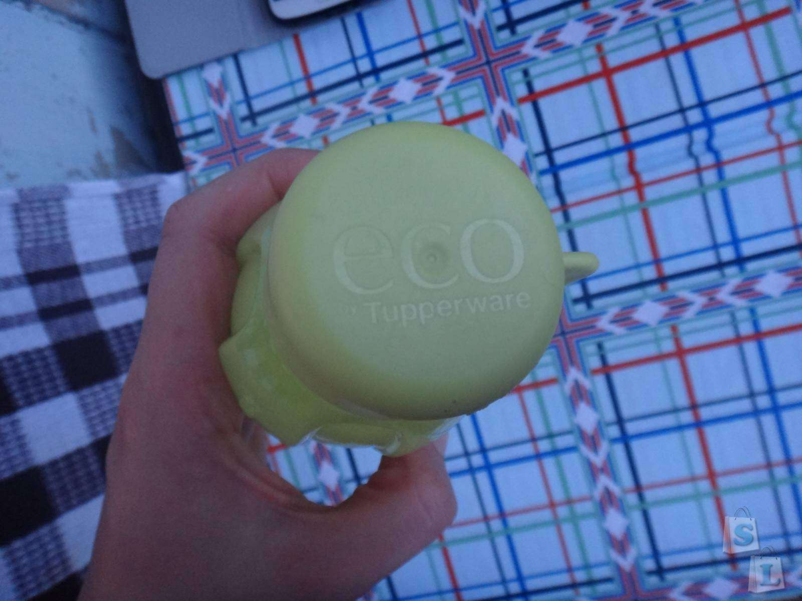 Другие: Обзор-отзыв о мини бутылочке из Эко пластика фирмы Tupperware емкостью 310мл