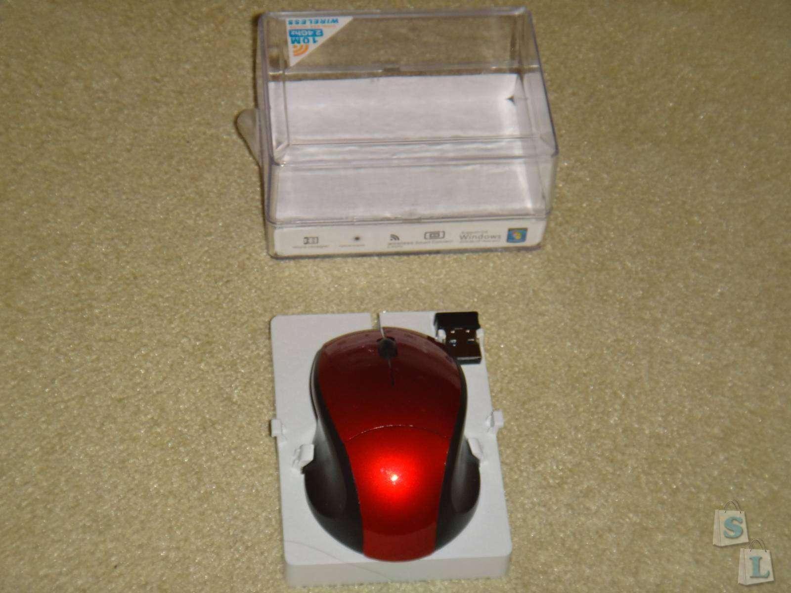 GearBest: Обзор беспроводной  компьтерной мышки