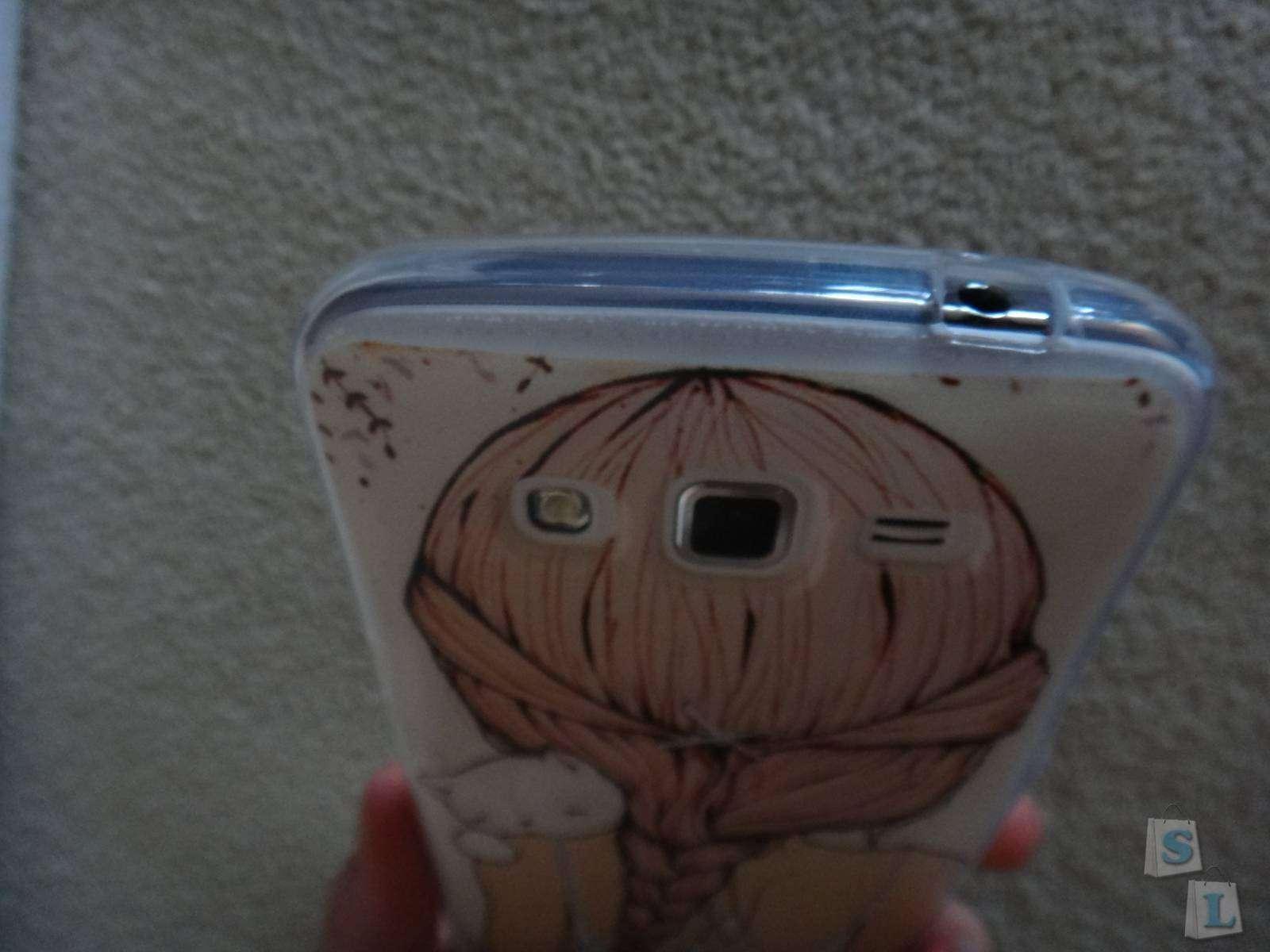 Aliexpress: Обзор силиконового чехла на  телефон Samsung Grand2 Duos