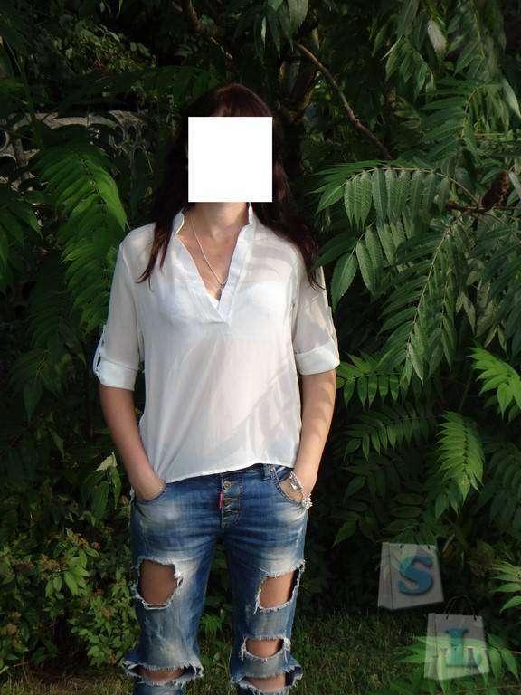 Sammydress: Обзор шифоновой  блузы-фрака