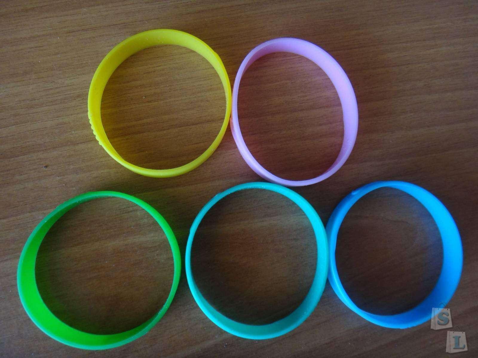 Aliexpress: Обзор спортивных силиконовых браслетов