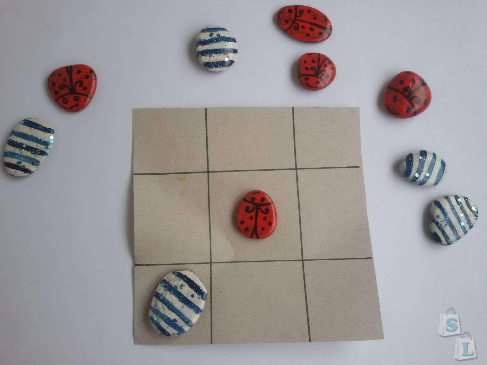 Другие - Украина: Обзор самодельной настольной игры крестики -нолики