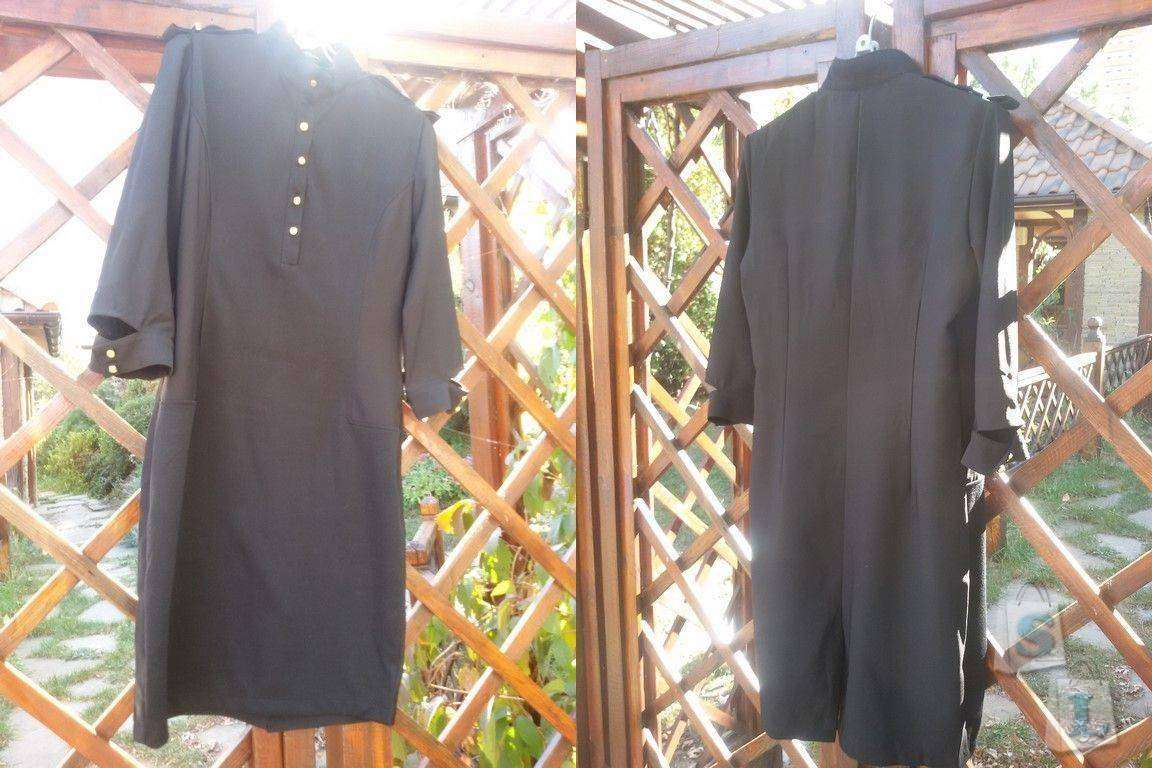 Banggood: Обзор черного классического платья для офиса