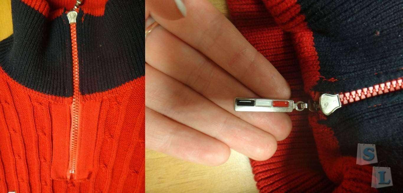 Aliexpress: Обзор мужского свитера с воротником-обманкой. Качественная копия Tommy Hilfiger