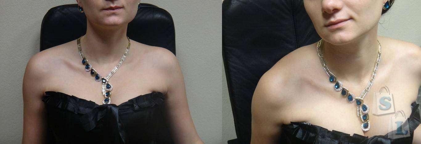 Banggood: Комплект женской бижутерии: колье и серьги