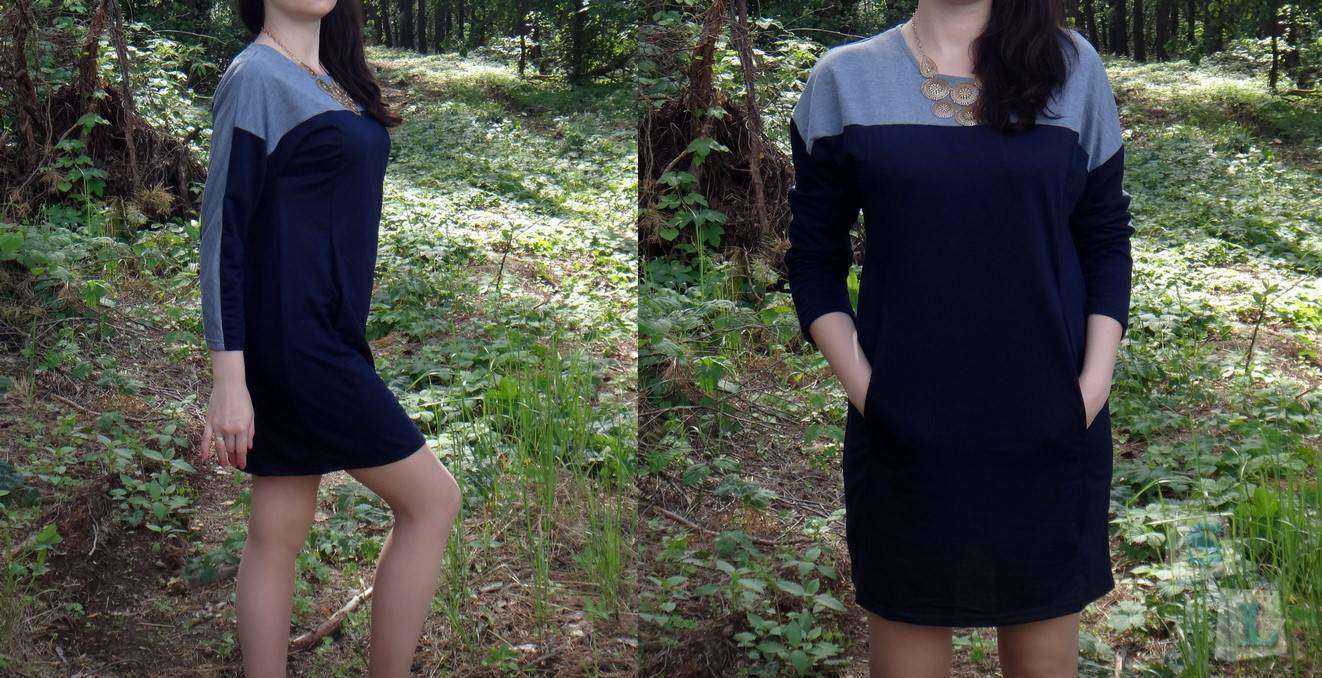 GearBest: Обзор женского трикотажного платья