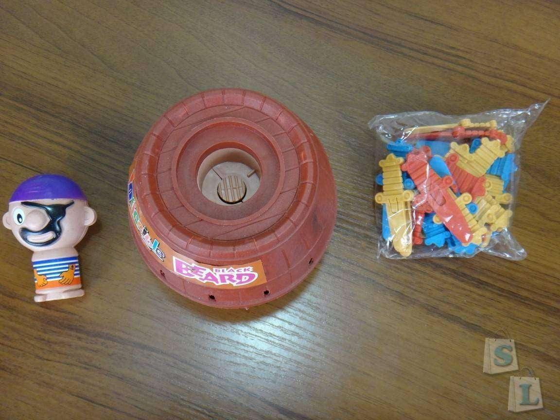 GearBest: Обзор настольной детской игрушки 'Пират в бочке'