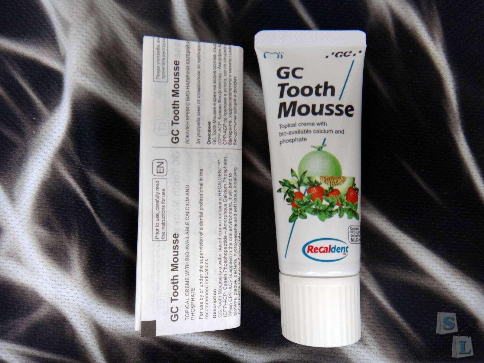 Другие - Украина: Обзор-отзыв о гель пасте Tooth Mousse (Тус мус Тусс мусс) 40 гр.|35 мл.