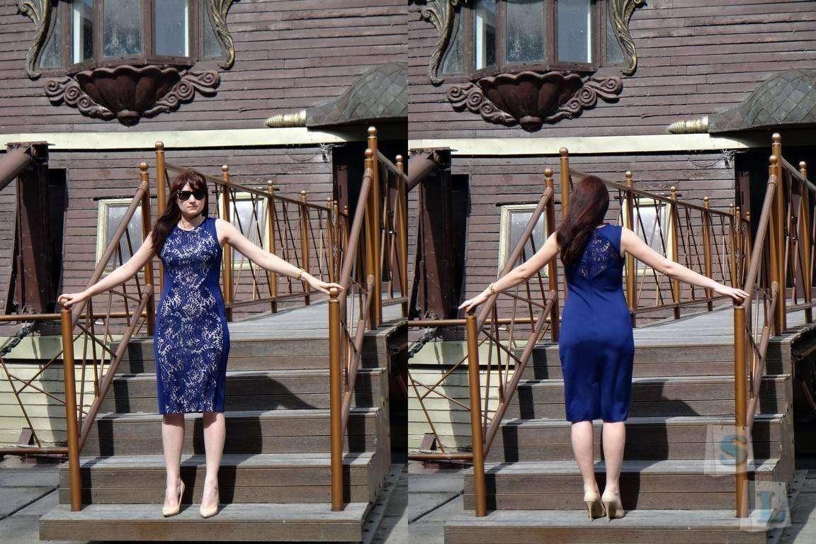 Другие - Китай: Платье-футляр прямого кроя