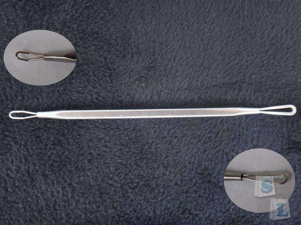 Banggood: Обзор набора косметологических инструментов 7 в 1 (петли, игла, ложки УНО)