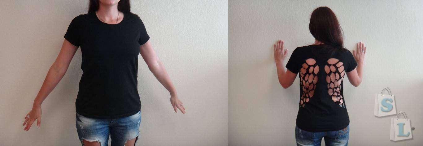 GearBest: Женская футболка с крылышками