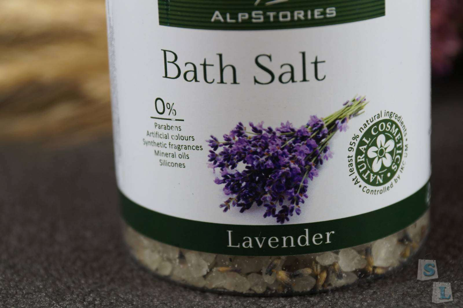 Другие - Украина: Обзор- отзыв о соли для ванн от ТМ 'Alpstories' (Альпсторис) с ромашкой, лавандой и розмарином