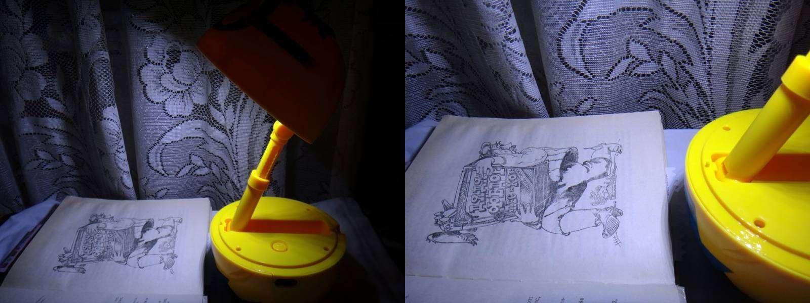 GearBest: Обзор детской настольной лампы-ночника в виде Миньона.