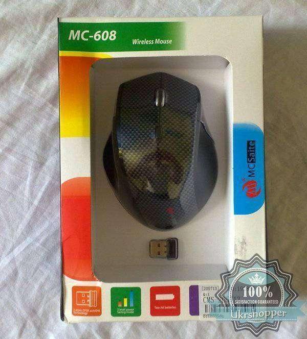 TinyDeal: Обзор мыши MCSaite